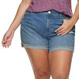 Plus Size EVRI? Denim Shorts
