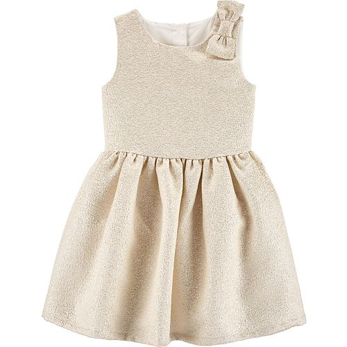 Toddler Girl Carter's Bow Holiday Dress