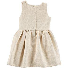 Toddler Girl Carter's Bow Holiday Dress