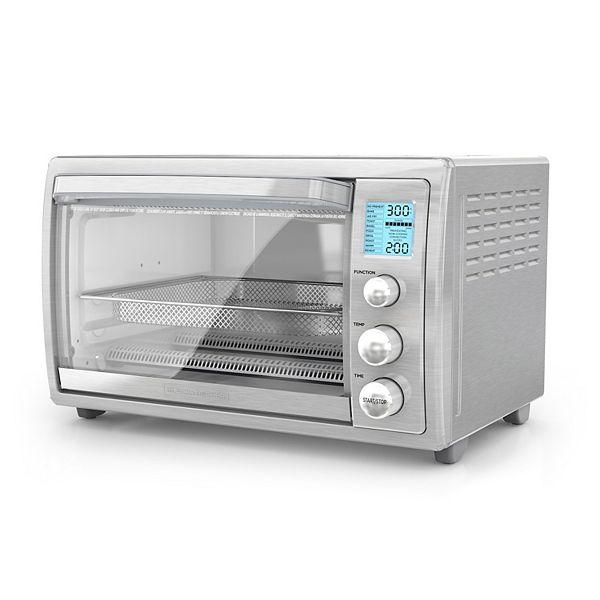 Black Decker Crisp N Bake Air Fry Countertop Oven With No Preheat