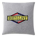 Body Glove Embroidered Throw Pillow