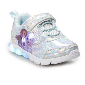 Disney's Frozen 2 Anna & Elsa Toddler Girls' Light Up Shoes