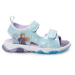 Disney's Frozen 2 Anna & Elsa Toddler Girls' Light Up Sandals