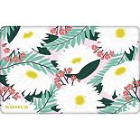 Daisy Flower Gift Card