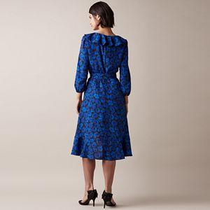 Women's JW Jason Wu Printed High-Low Dress