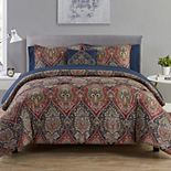VCNY Home Dion Damask Comforter Set