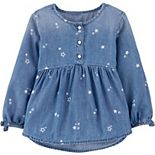 Toddler Girl OshKosh B'gosh® Star Denim Top