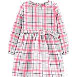 Toddler Girl Carter's Plaid Twill Dress