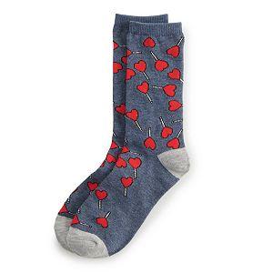 Juniors' SO® Valentine's Day Socks