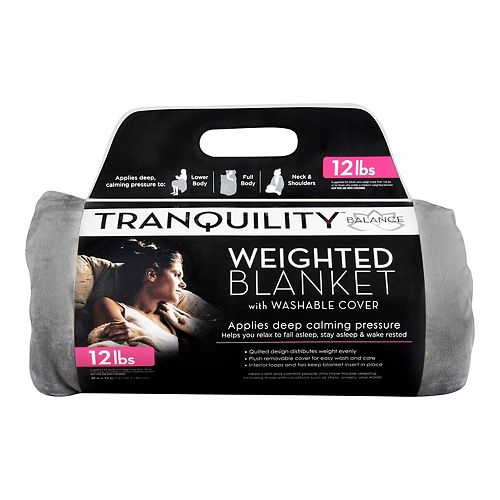 Tranquility Weighted Blanket & Cover - 12lbs.