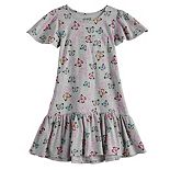 Girls 4-12 Jumping Beans® Drop Waist Dress