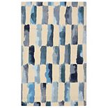 RugSmith Painted Weave Contemporary Modern Rug
