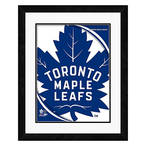 Toronto Maple Leafs Logo Framed Wall Art