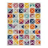 KHL Rugs Argo Geometric 5.3x7.3 Indoor Area Rug