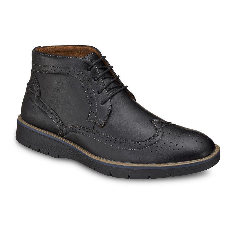 Akademiks Elise Men's Chukka Boots, Size: Medium (7), Black