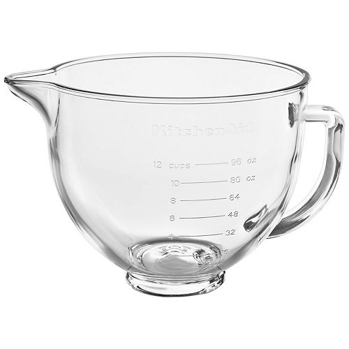 KitchenAid KSM5GB 5-qt. Tilt-Head Glass Bowl