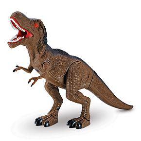 World Tech Toys Dino World T-Rex Electric Walking Dinosaur
