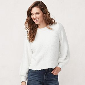 Women's LC Lauren Conrad Blouson-Sleeve Sweater