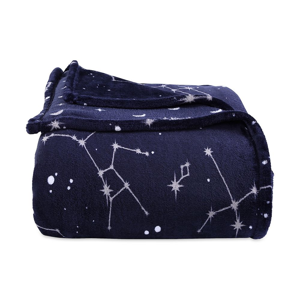 Better Living Constellation Plush Bed Blanket