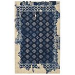 RugSmith Fragment Distressed Vintage Inspired Rug