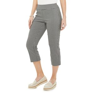 Women's Croft & Barrow® Millennium Tummy Control Capris