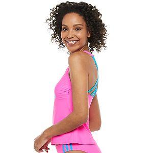 Women's adidas Crossback Tankini Top