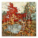 Artissimo Faraday Fall Day Canvas Wall Art