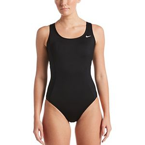 Women's Nike Keyhole Back One-Piece Swimsuit