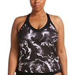 Plus Size Nike V-Neck Tankini Top