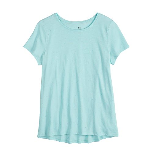 Girls 4-20 & Plus Size SO® High-Low Tee