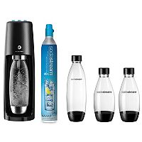 SodaStream Fizzi One-Touch Sparkling Water Maker Bundle + $10 Kohls Cash