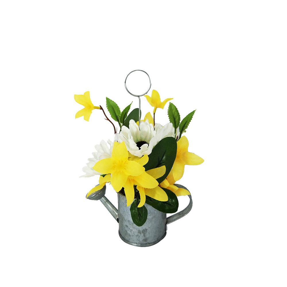 SONOMA Goods for Life® Watering Can Faux Flower Photo Clip