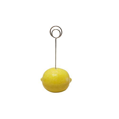 SONOMA Goods for Life® Farmhouse Retreat Lemon Photo Clip