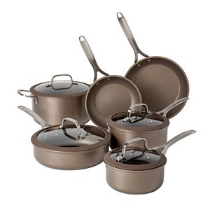Food Network? 10-pc. Textured Titanium Nonstick Cookware Set