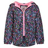 Girls 4-8 Carter's Flowery Printed Anorak Jacket