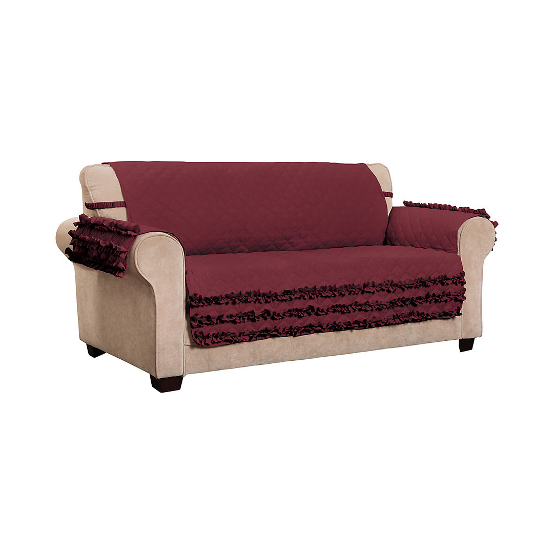 Claremont Ruff Natural Sofa Slipcover