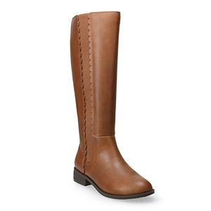 LC Lauren Conrad Molasses Women's Riding Boots