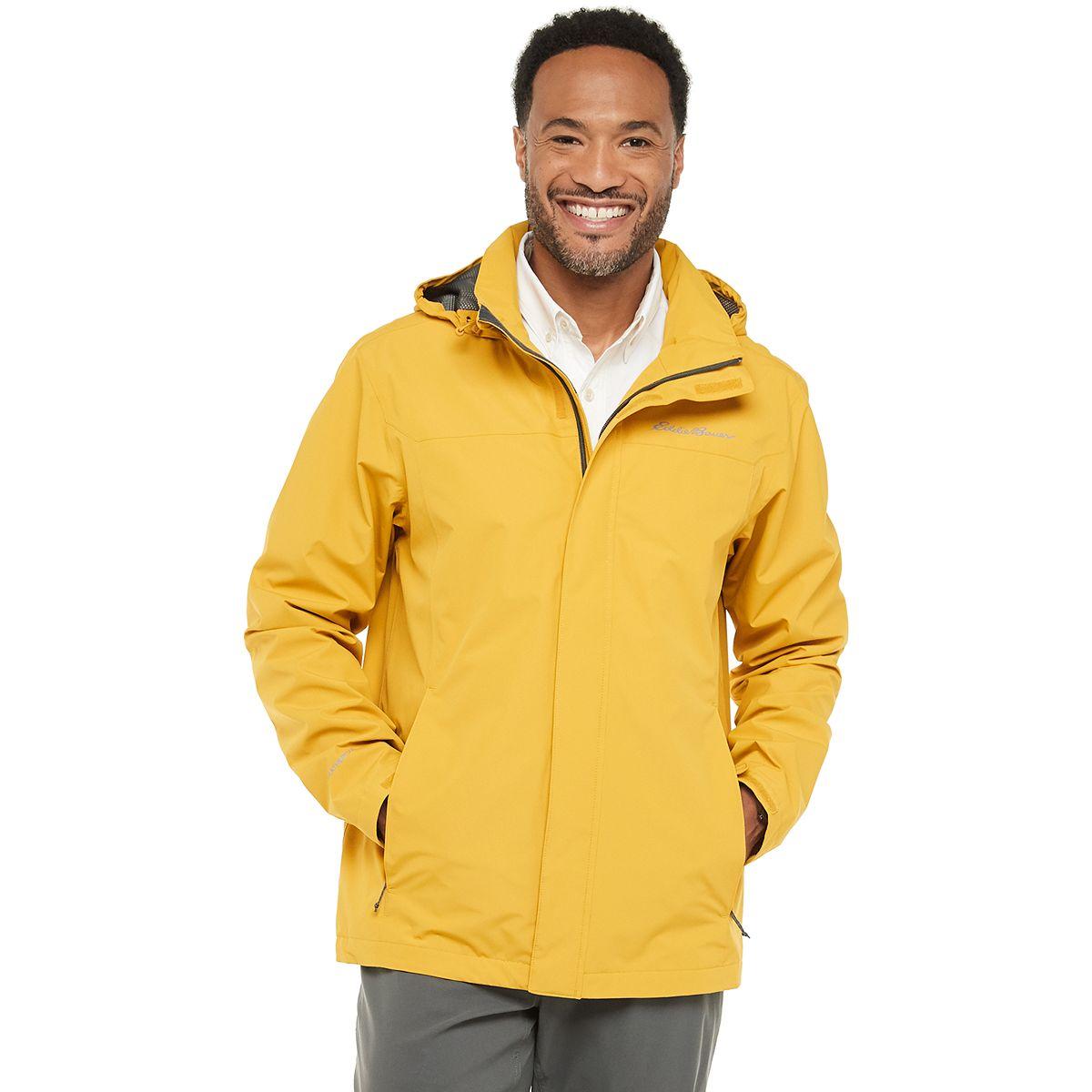 Eddie Bauer Men's Rainfoil Packable Jacket (various colors/sizes)