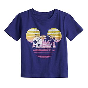 Disney's Mickey Mouse Baby Navy Blue Graphic Tee by Family Fun?