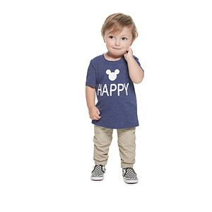 "Disney's Mickey Mouse Baby ""Happy Place"" Graphic Tee by Family Fun?"