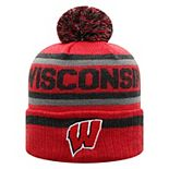 Adult Wisconsin Badgers Buddy Knit Pom Hat
