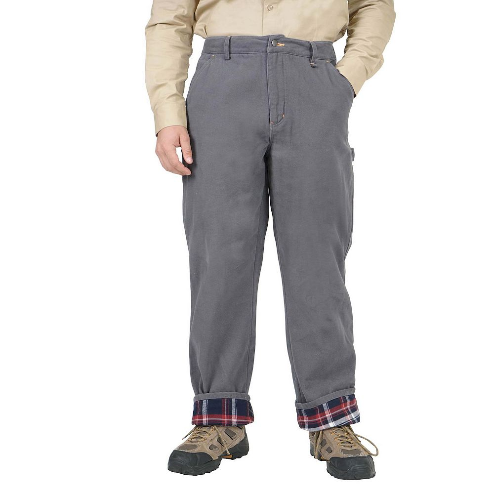 Men's Mountain and Isles Loose-Fit Flannel-Lined Carpenter Pants