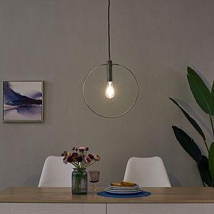 Southern Enterprises Cavazo Round Pendant Light