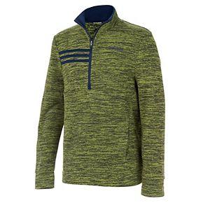 Boys 8-20 adidas Microfleece Half-Zip Sweater