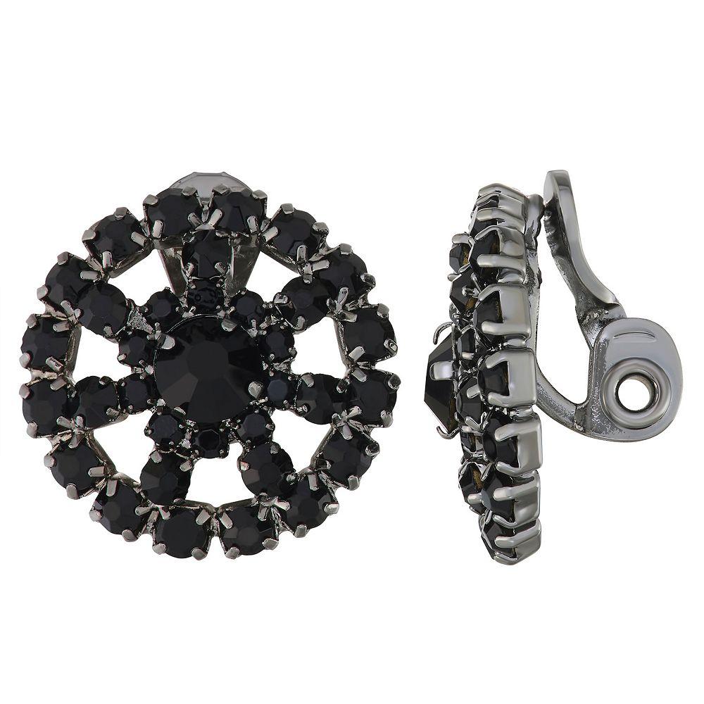 Napier Button Clip-on Earrings