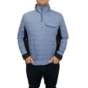 Men's Mountain and Isles 1/4 Zip Hybrid Pullover