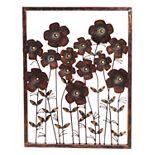 Cape Craftsmen Flower Frame Wall Decor