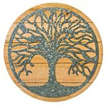 Cape Craftsmen Round Tree of Life Wall Decor