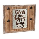 """Cape Craftsmen """"Bless Our Happy Home"""" Wall Decor"""