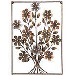 Cape Craftsmen Metal Flowers Wall Decor
